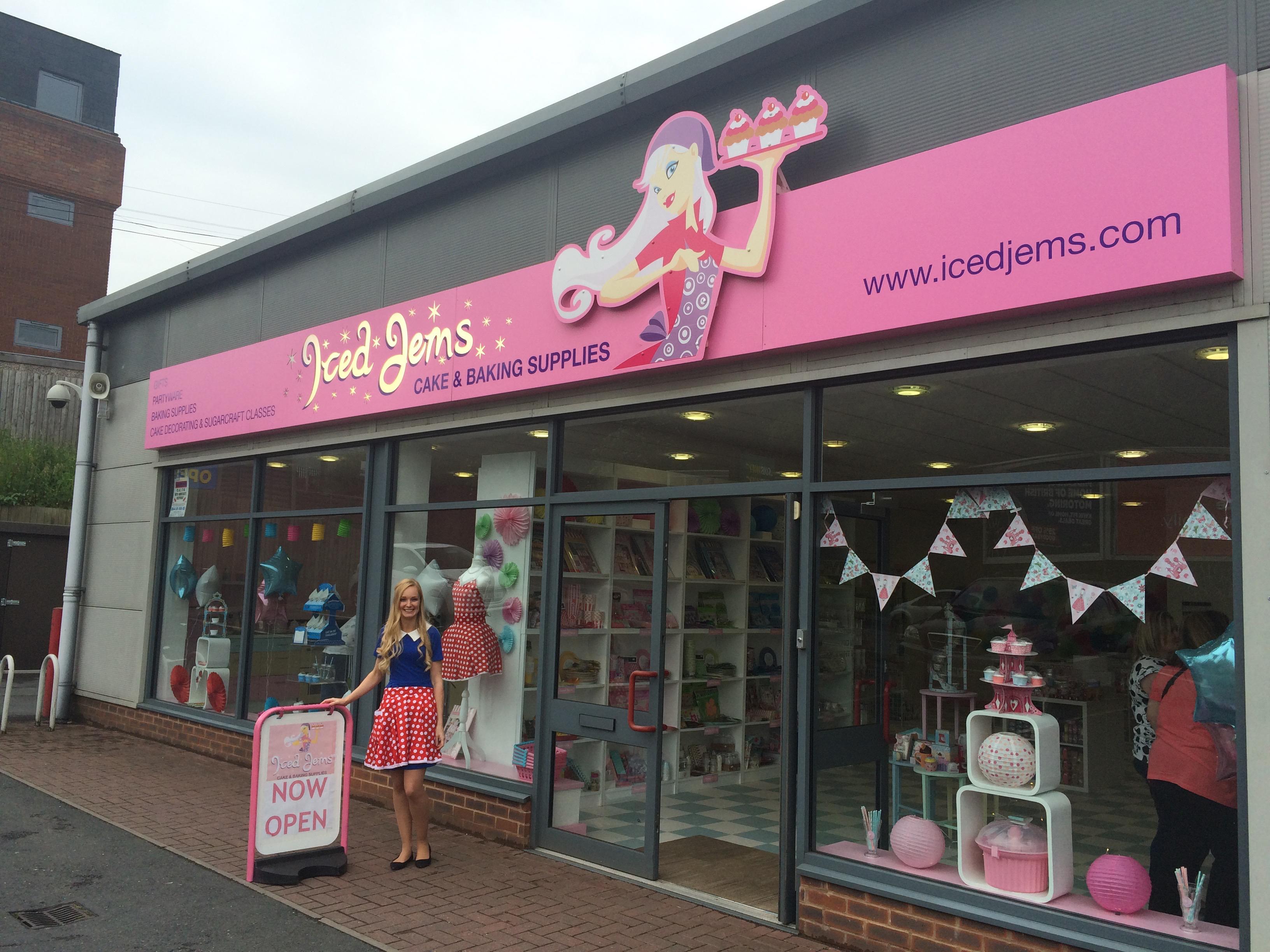 Cake Decorating Shops West Midlands