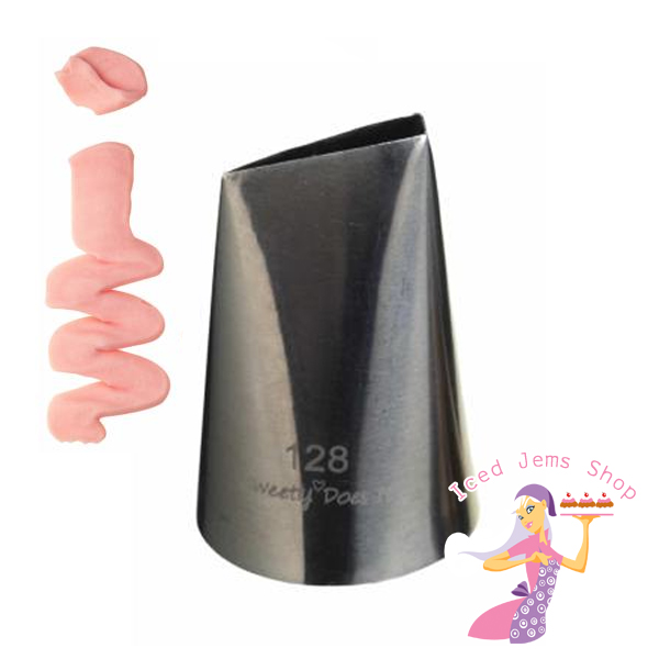 Jumbo Cake Decorating Tips : Jumbo Petal Piping Tip Iced Jems Shop