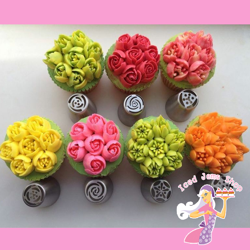 Instant Flower Nozzles Set of 7 Iced Jems Shop