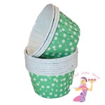 Green Baking Cups