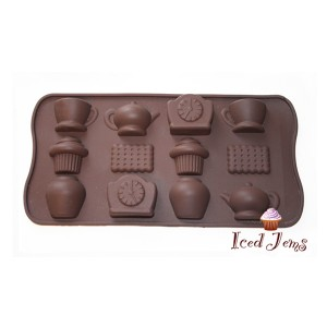 Tea Party Chocolate Mould
