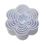 Flower Cookie Cutters Set