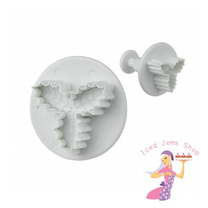Holly Leaf Plunger Cutters