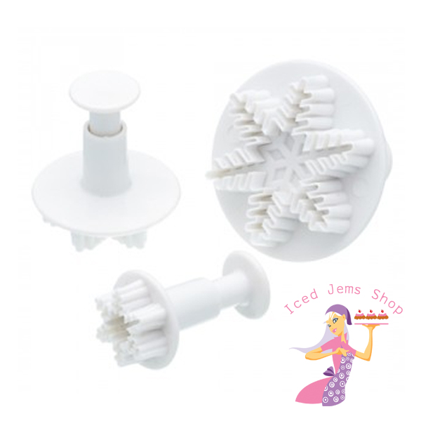 Snowflake Plunger Cutters