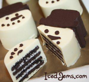 Snowman Oreo Chocolate