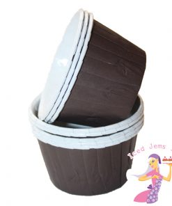Plain Brown Baking Cups