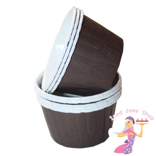 Plain Brown Baking Cups