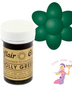 Sugarflair Paste Holly Green