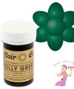 Sugarflair Paste Holly Green