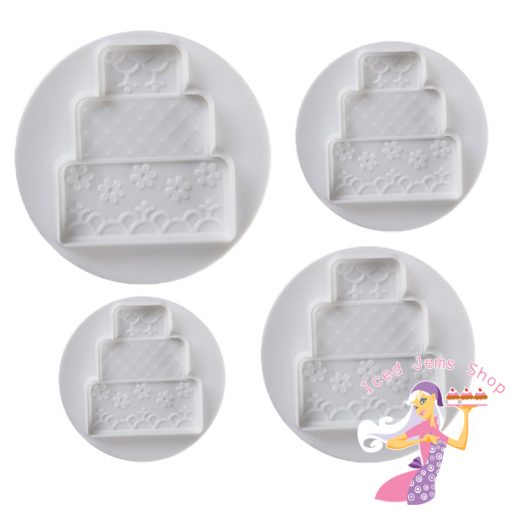 Tiered Cake Plunger Cutters