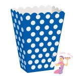 Blue Polka Treat Box