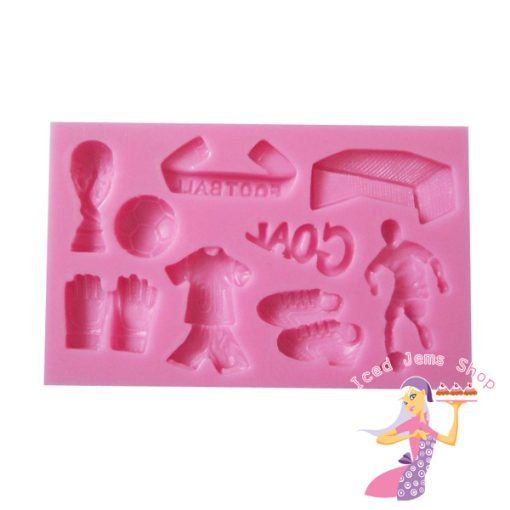 Football Themed Sugarcraft Mould