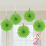 Green Hanging Fans
