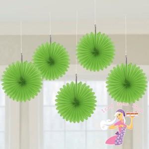 Green Hanging Fans