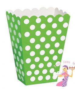 Green Polka Treat Box