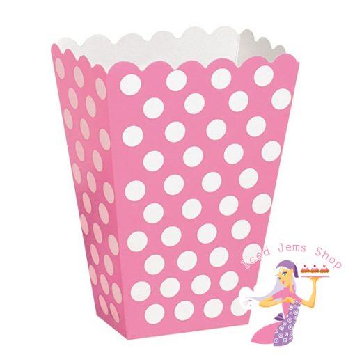 Pink Polka Treat Box