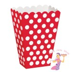 Red Polka Treat Box