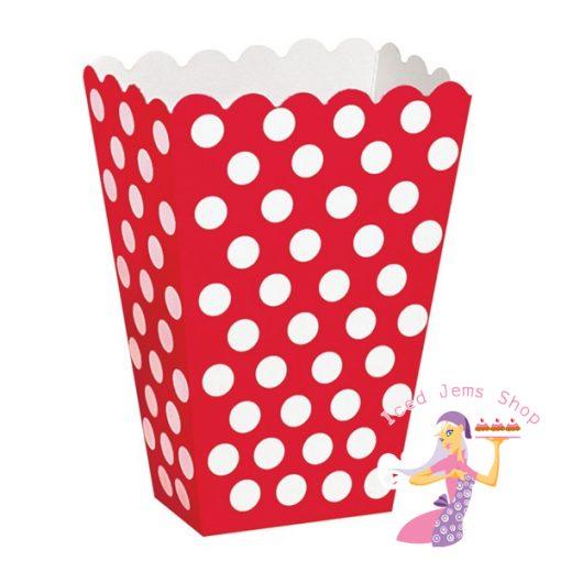 Red Polka Treat Box