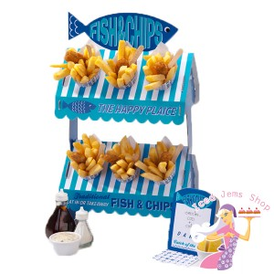 Fish and Chip Party Stand