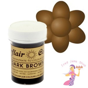 Dark Brown Food Colour