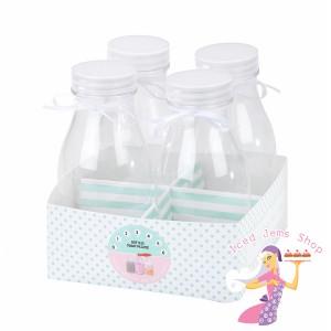 Mini Milk Bottles Stand