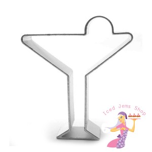 Cocktail Glass Cookie Cutter