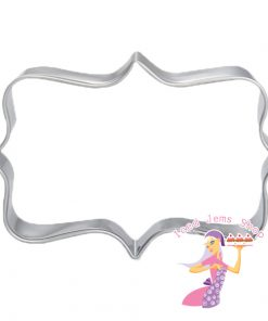 Fancy Rectangle Cookie Cutter