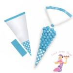 Blue Sweet Cones