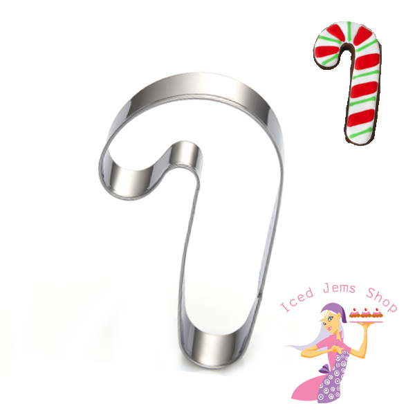 Candy Cane Cookie Cutter