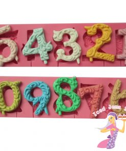 Patterned Numbers Mould