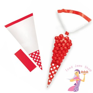 Red Sweet Cones