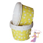 Mini Yellow Baking Cups