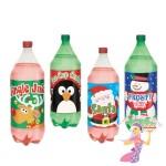 Christmas Bottle Labels