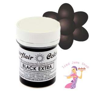 Black Extra Food Colour Paste