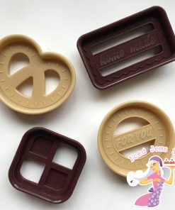 Traditional danish cookies cutters
