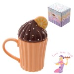 Chocolate Orange Cupcake Mug