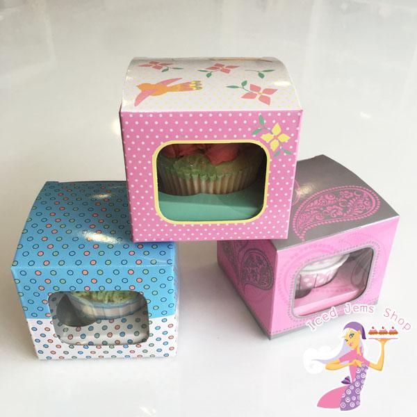 b41350daa252 Single Cupcake Boxes 6 Pack