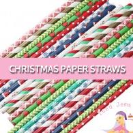 christmaspaperstraws