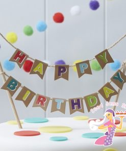 Cake Bunting & Toppers