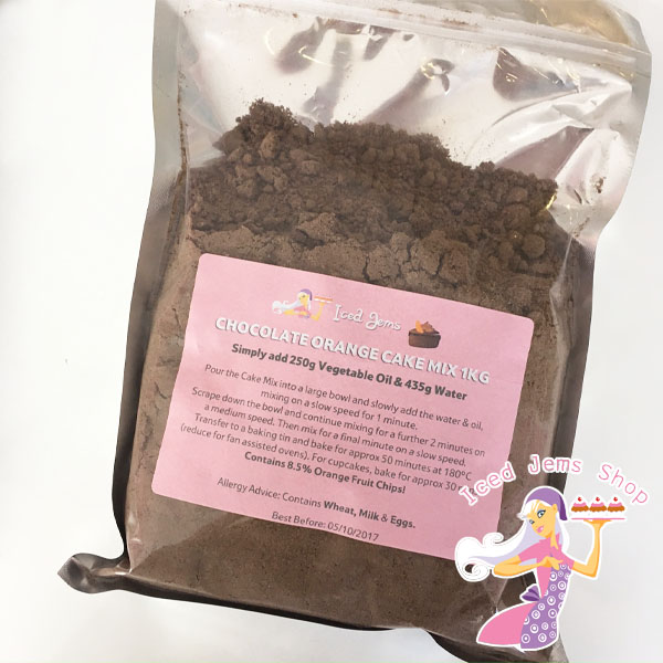Iced Jems Chocolate Orange Mix 1kg