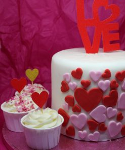 Valentines Cake Toppers